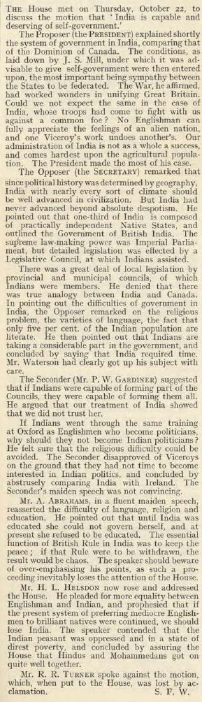 19141022_DebatingSoc_India
