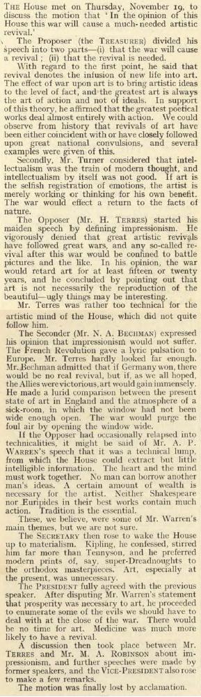 19141119_DebatingSoc_Art