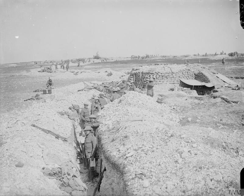 Troops from the London Regiment at the Somme, 6th September 1916